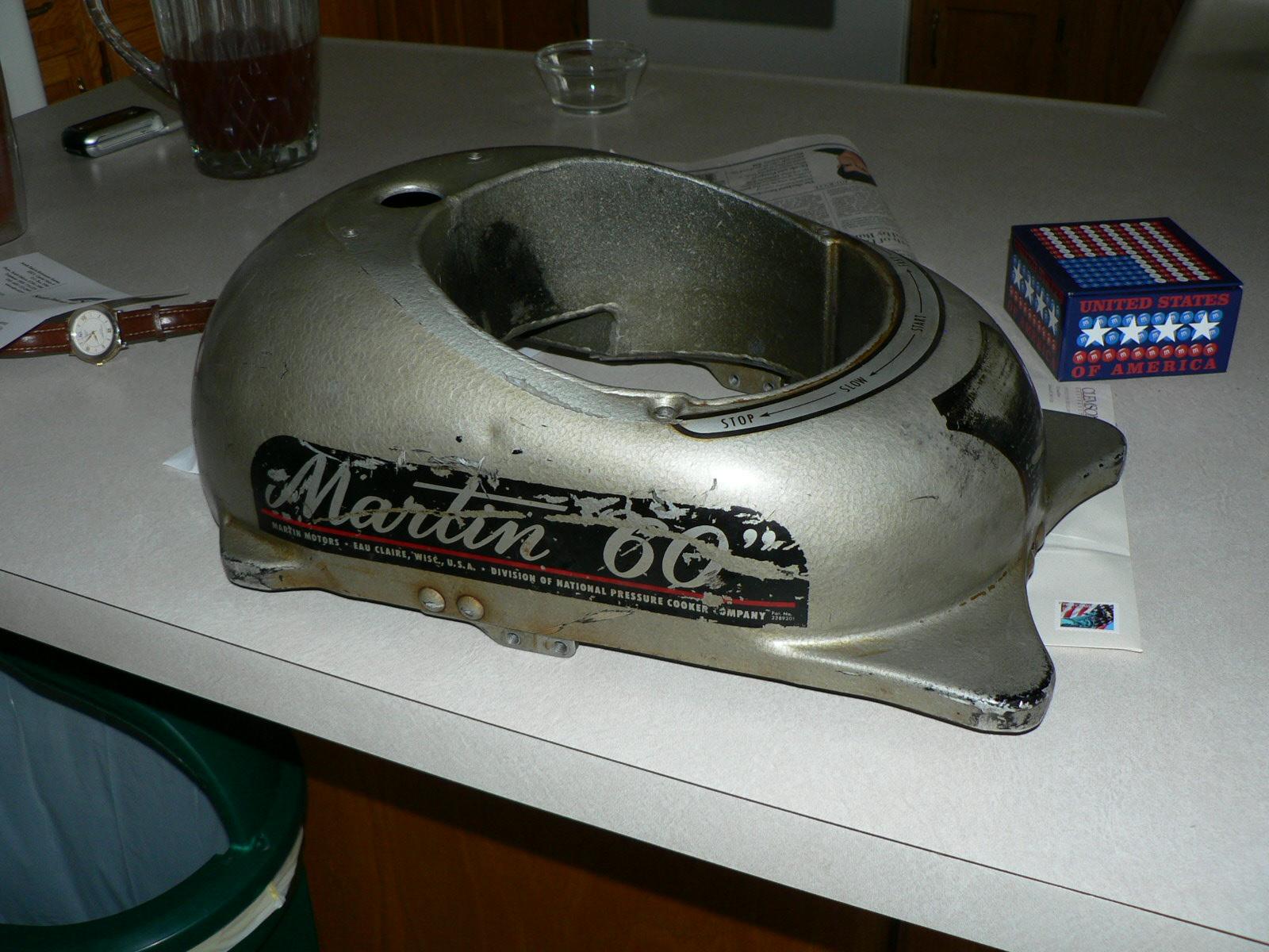 Restoring a 1950 Martin 60